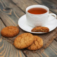 """Come and enjoy tea and homemade oatmeal treats today as we kick off our 2020 Winter Reading Program for Adults – """"Get Your Mitts on a Good Book!"""""""