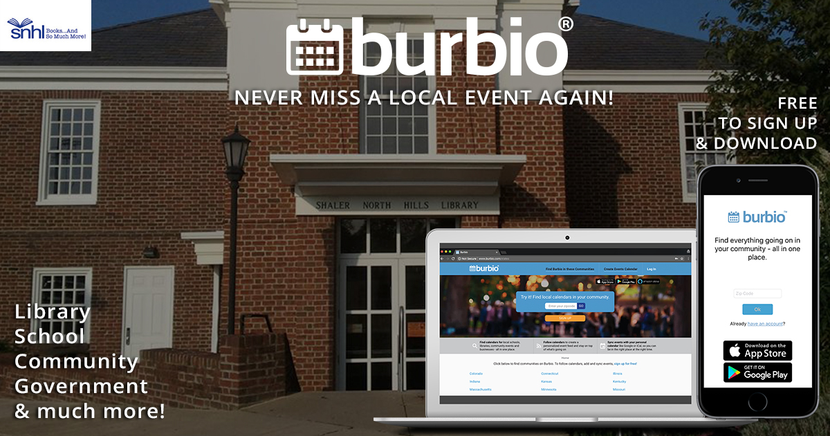 Don't miss another SNHL or Shaler Area event again! Burbio com is a