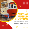 Enjoy our special virtual storytime in honor of the Heinz History Center! A representative from the museum will read a story that will introduce children to local history in a […]
