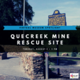 August 3, 5:00pm. This program presented via Zoom. PLEASE REGISTER FOR THIS PROGRAM HERE. About the Quecreek Mine Rescue Site: The Quecreek Mine Rescue Memorial/Monument for Life honors and portrays […]